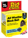 All-Weather Mice & Rat Block Bait - Pack of 15