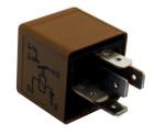 Fuel Pump Relay - 12V - 30A - 5-Pin - Plug Type