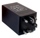 Fuel Pump Relay - 12V - 15A - 6-Pin - Plug Type