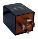 Flasher Relay - 12V - 126A - 5-Pin - Bracket Type