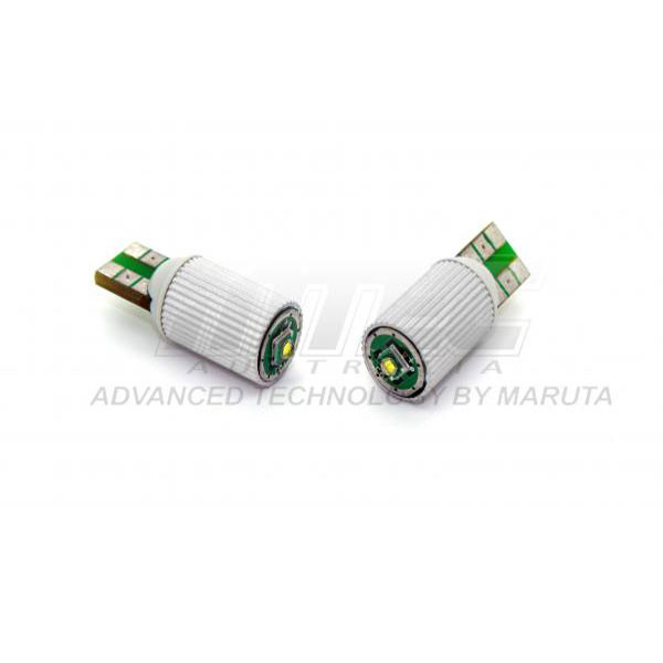 4 LED XENON WHITE QUAD 501 T10 W5W SIDELIGHT BULBS VOLVO V70 ESTATE