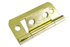 1.5in. Flush Hinge with Brass Finish