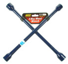 4 Way Wheel Wrench - Blue