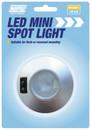 12V LED Mini Spot Light - Silver