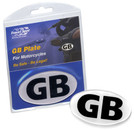 Motorcycle Magnetic GB Plate