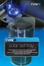 Classic Solar Ashtray - Black