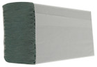 1 Ply Green M-Fold Paper Hand Towels - Pack of 3000