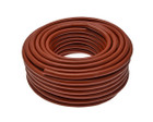 Reinforced PVC Hot Water Hose - Red - 1/2in. - 30m Coil