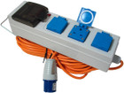 3 Way Mobile Mains Power Unit - 230V