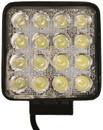 12/24V Flood LED Work Lamp - 16 x 3W