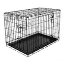 Fold Flat Metal Crate - Medium