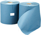 1 Ply Blue Towel Roll - 200m x 197mm - Pack of 6