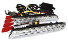 Super Flux DRL Daytime Running Lights 24* LEDS Type Approved ECE R87