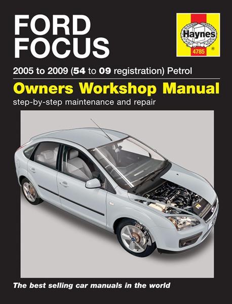 HAYNES - Ford Focus Petrol (05 - 09) 54 to 09 Reg - Car Manual 4785A