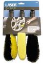 Alloy Wheel Brush Set - 3 Piece