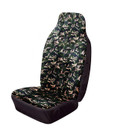 Car Seat Cover - Hi-Back Stretch - Front Single - Camouflage