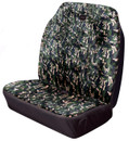 Car Seat Cover - Hi-Back Stretch - Front Double - Camouflage