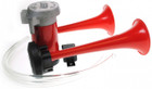 Twin Airhorns & Compressor Kit - 12V