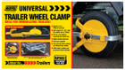 Adjustable Wheel Clamp - 8in.-10in.