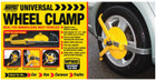 Adjustable Wheel Clamp - 13in.-17in.
