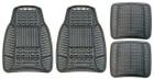 Standard Mat Set - A/W Rubber - Black - 4 Piece