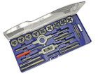 21 Piece Metric Tap & Die Set - Carbon Steel