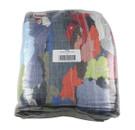 Bale Laundered Coloured Polishing Cloths - 10kg