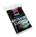 Cotton Polishing Cloths White - Pack Of 5