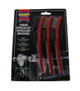 Specialist Detailing Brushes - Pack Of 3