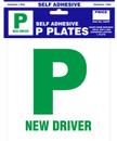 P Plates - Self Adhesive - Pair