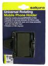 Rotating Phone Holder - Black - Universal