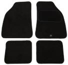 Premier Universal Mat Set - With Drivers Heel Pad - Black - 4 Piece