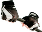 Cycle Gel Performer Fingerless Track Mitts - Black/Silver - Medium