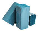 1 Ply Blue C-Fold Paper Hand Towels - Pack of 2880