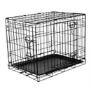 Fold Flat Metal Crate - Small