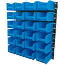 24 Bin Wall Storage Unit - Large Bins