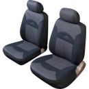 Car Seat Cover Celcius - Front Pair - Black/Grey