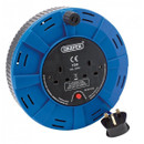 Twin Extension Cable Reel - Blue - 15m