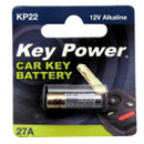 Coin Cell Battery 27A - Alkaline 12V