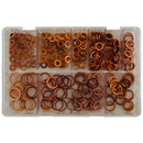 Copper Washers - Diesel Injection - Assorted - Box Qty 360
