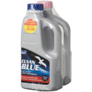 Blue and Pink Toilet Fluid 1Litre Twinpack