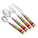 Camper Smiles Stripe Cutlery Set - 16 Piece