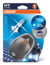 Osram H7 X-Racer 55w Motorbike bulbs Xenon Blue Effect 4k (Twin Pack)