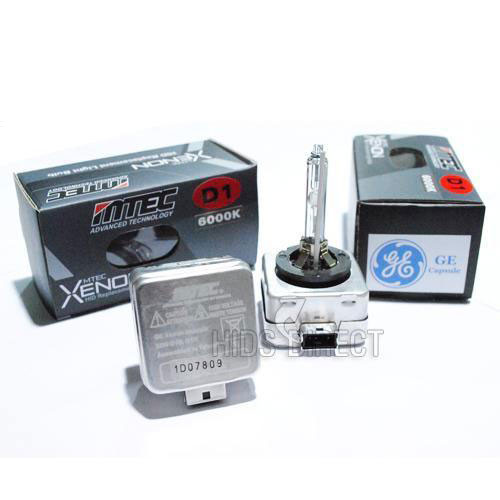 2 X Mtec D1s 5100k 35w Hid Xenon Headlight Bulbs With Ge Burners