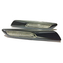 Bmw 3, 5 & X Series Carbon Style Fender Amber Led Side Indicators