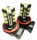 H11 27 x SMD LED Canbus Foglamp Bulbs (2 x LED) White