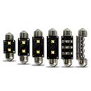 2 x 42mm (264) Festoon 2*6watt Osram CREE-XPE Chip Canbus LED