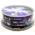 50gb Ridata  BD-R / 25Pk / 6x / White Inkjet Hub Printable
