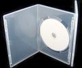 Clear Slim Single DVD Case