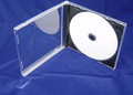 Black Tray Clear Box Assembled 10.4mm Single Jewel Case